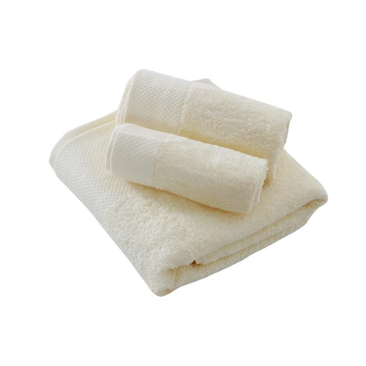 Dyed Bath Towel Set