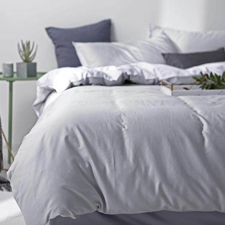 Hotel Plain Dyed Bedding Set