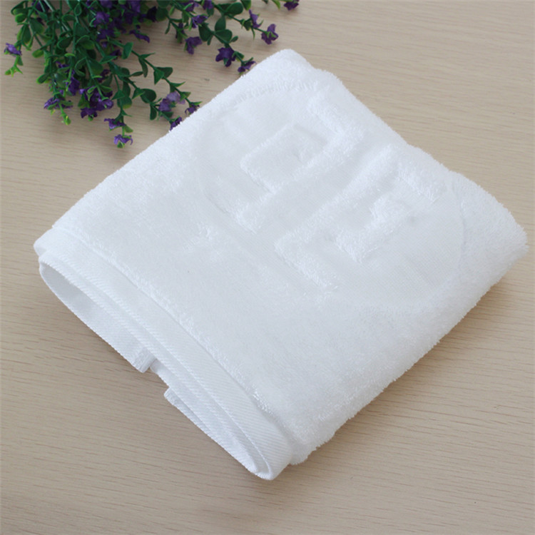100% Cotton Hotel 16S Terry Jacquard Bath Towel