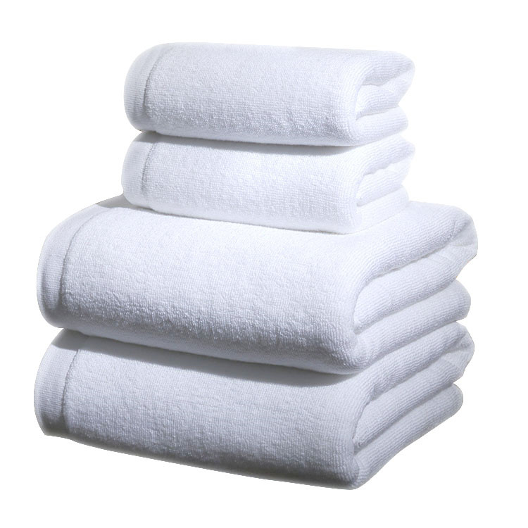 White Bath Towel Set