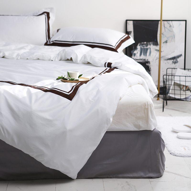 Cotton Satin Bedding Set