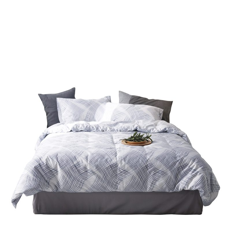 King Size Printed Bedding Set