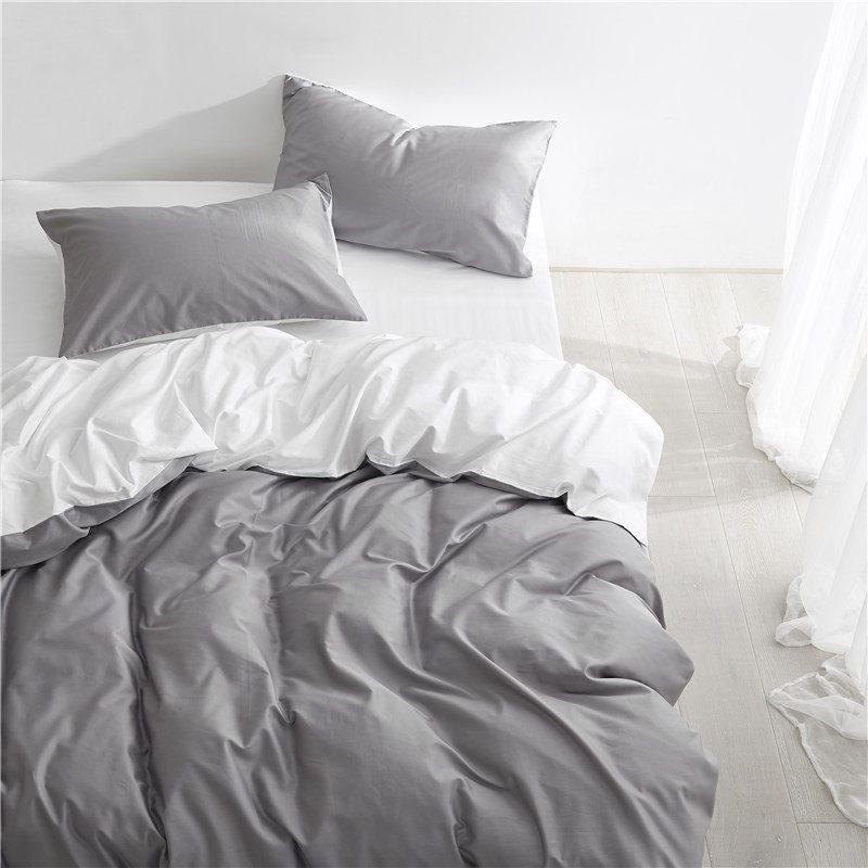 Solid Duvet Cover Set