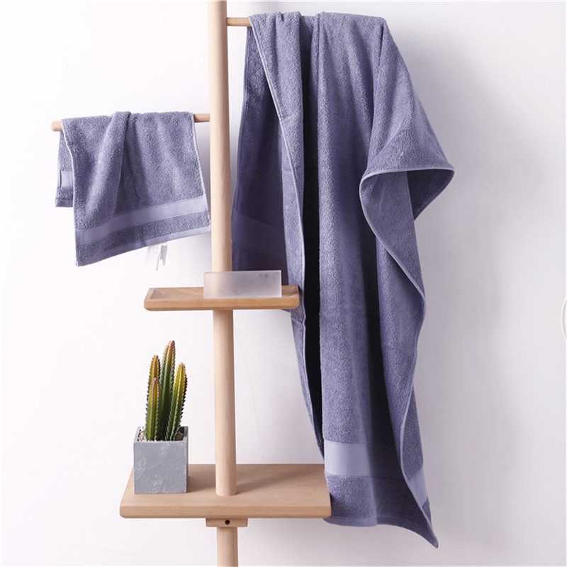 Solid color Towel Set