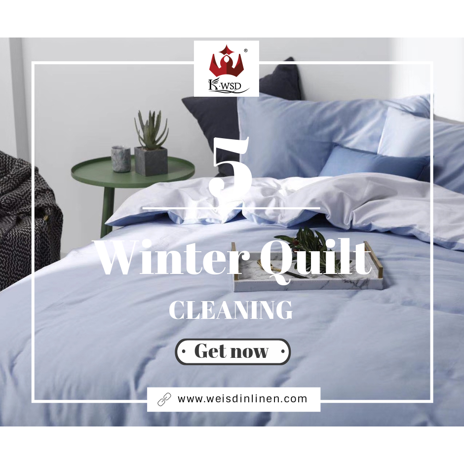 5 Ideas for Winter Quilt Cleaning