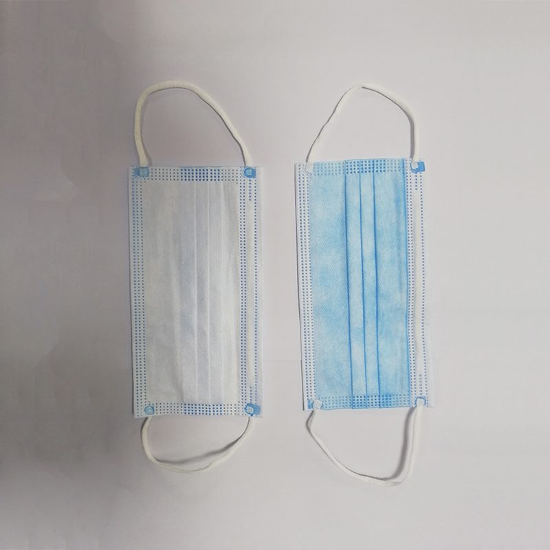 Disposable Protective 3-layer Non-woven Fabric Face Mask